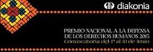 Premio Nacional a la Defensa de los Derechos Humanos en Colombia 2015